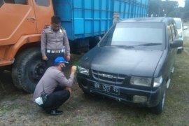 Pengendara motor tewas tabrakan di lintas Parapat