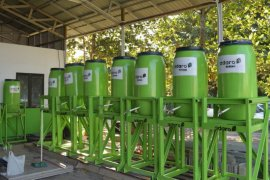 AMC' CSR team assembles COVID-19 hand washing facility