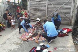 Seorang tunawisma terserempet KRL di Jakarta Barat