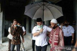 Tinjau Masjid Jamik Al Anshori, Gubernur Babel dukung penyelesaian pembangunan hingga akhir 2020