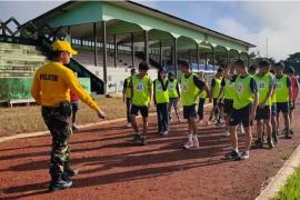 Kodim Putussibau bina 87 putra - putri Kapuas Hulu jadi calon prajurit TNI
