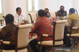 Jokowi jelaskan penggunaan anggaran kepada pimpinan MPR