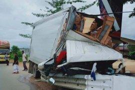 Kecelakaan tunggal di Aceh Jaya rengut nyawa sopir mobil box