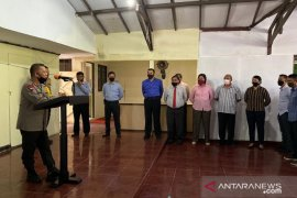 Kapolda Maluku ingatkan jajaran Jaga profesionalisme dalam bekerja
