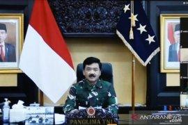 Panglima TNI: Waspadai gangguan kedaulatan negara di tengah pandemi COVID-19