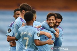 Manchester City lumat Newcastle United 5-0, Pep sanjung David Silva