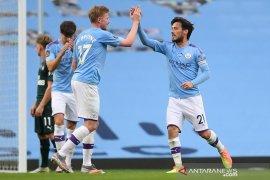 Liga Inggris: City vs Newcastle 5-0, Guardiola sanjung tinggi David Silva