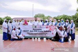 Sekolah di Sabang disemprot desinfektan jelang tahun ajaran baru