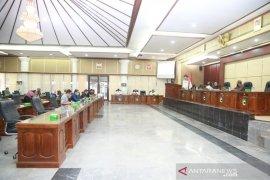 Bupati sampaikan jawaban raperda laporan pertanggungjawaban APBD 2019