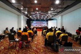 Dispora Latih Wirausaha 15 Pemuda Tuna Netra dan Tuna Daksa