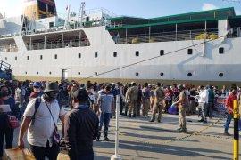 KKP: Enam penumpang KM Dobonsolo palsukan hasil tes cepat COVID-19