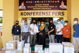 BUMN serahkan bantuan kepada gugus tugas Gorontalo