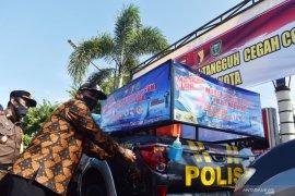 Mobil patroli tangguh cegah COVID-19