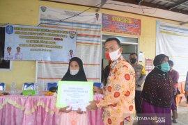 Wabup Bangka salurkan BLT dana desa bagi 465 kepala keluarga