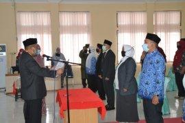 Sembilan pejabat RSUD Aceh Timur dilantik ditengah COVID-19
