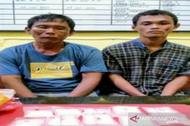 Polres Bangka Selatan tangkap dua pelaku narkoba