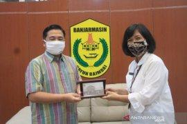 Kepala BPS Kota Banjarmasin pamitan kepada walikota