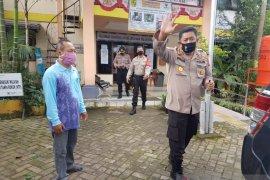 Direktur Binmas Polda Kalsel sambangi zona hitam COVID-19