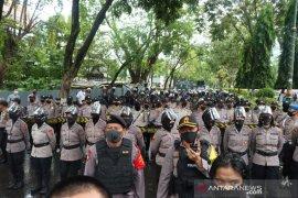 Polresta Banjarmasin kawal aksi damai menolak RUU HIP