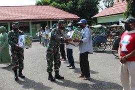 Bakti sosial Kodim 1008/Tanjung, bagikan ratusan sembako gratis