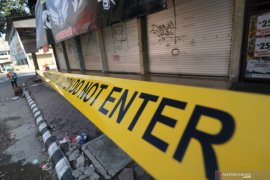 Pasar Pahing Kota Kediri Ditutup