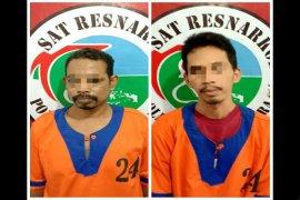 polisi Barito Utara tangkap bandar dan kurir sabu