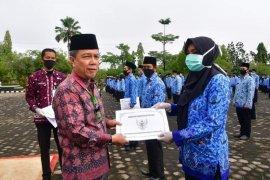 Ratusan CPNS formasi tahun 2018 Kabupaten Batanghari terima SK pengangkatan
