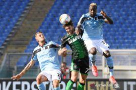 Liga Italia: Sassuolo bangkit untuk menang 2-1 atas Lazio