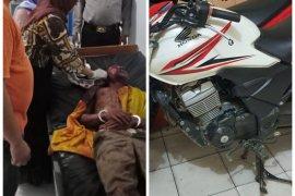 Polisi Stabat Langkat amankan pelaku pencurian sepeda motor setelah diamuk massa