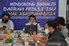 Kontras Sumut gandeng Kantor Berita ANTARA latih jurnalis di Medan