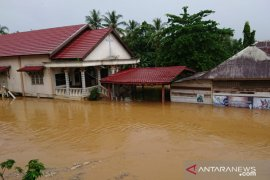 Pelaihari flooding, a catholic church inundated