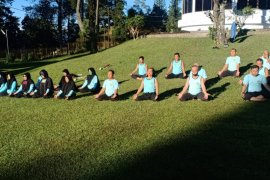 Satria Nusantara Langkat latihan peningkatan imun tubuh di Berastagi