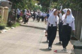 Kabupaten  Indramayu masih terapkan belajar di rumah pada tahun ajaran baru