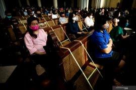 Kapasitas gereja dibatasi sesuai protokol kesehatan