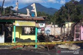 Kerugian akibat kebakaran kios di Kebun Raya Cibodas capai Rp500 juta
