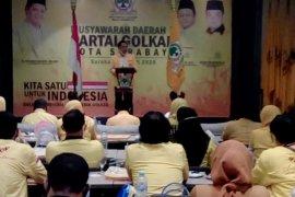 Arif Fathoni pimpin DPD II Partai Golkar Surabaya