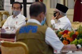 Penanganan COVID-19 di delapan provinsi diminta Presiden jadi prioritaskan