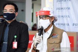 Sandiaga Uno  beri bantuan 5.650 APD buat tenaga medis RS Primaya Bekasi