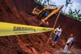 Tidak berizin, Wagub Jabar tutup lokasi galian tanah merah di Bekasi