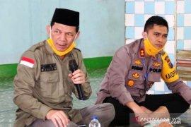 Masjid Jami' Babul Hasanah Sayur Matinggi dapat bantuan peralatan kesehatan dari GTPP COVID-19 Tapsel