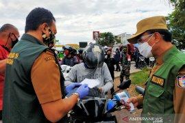 Pembatasan masuk dan keluar Kota Makassar diefektifkan di perbatasan