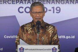 Kasus positif COVID-19 di Indonesia bertambah 1.282