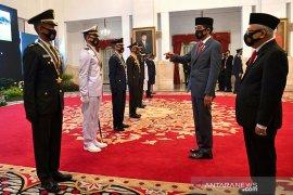 Presiden Jokowi sebut tantangan kejahatan yang dihadapi Polisi ke depan sangat berat