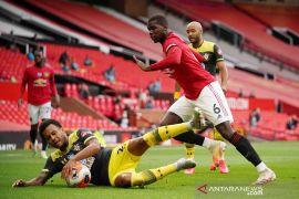 Raiola: Paul Pogba tidak akan meninggalkan Manchester United