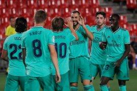 Real Madrid di ambang juara La Liga,  usai gebuk Granada 2-1