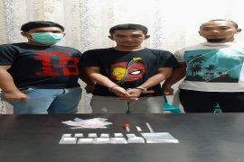 Narapidana asimilasi pengedar sabu-sabu ditangkap Satresnarkoba Polres Binjai