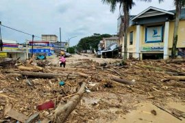Dua korban tewas usai peristiwa banjir bandang