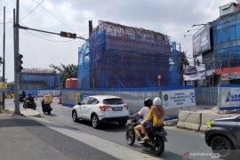Rekayasa lalu lintas dipersiapkan di sekitar pembangunan jalan layang di Bandung