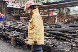 Kebakaran hanguskan Ponpes Al Golibiah di Puncak Bogor