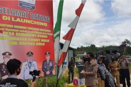 Polri tetapkan Semangut Utara sebagai Kampung Mandiri Tangguh Sentarum
